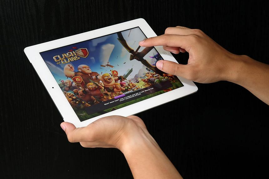 Popular games such as Clash of Clans are now a regular part of the e-sports scene where they can be played on mobile phones.