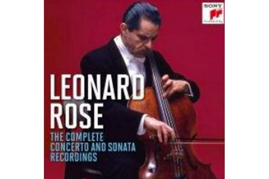 The reissued recordings demonstrate the breadth, depth and wide-ranging scope of American cellist Leonard Rose's artistry.