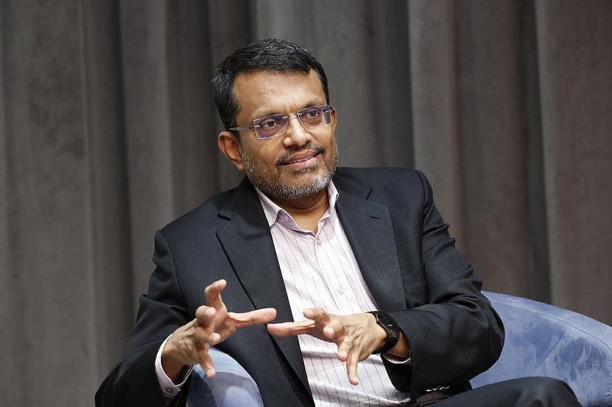 Singapore's monetary policy stance remains appropriate, MAS chief Ravi Menon said on Wednesday, in comments that follow a disappointing run of recent economic data.
