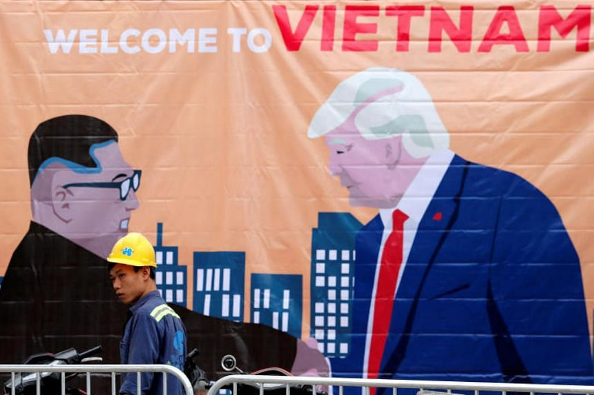 """US President Donald Trump said late last year that he and North Korean leader Kim Jong Un """"fell in love"""", and on the eve of his departure for the second summit said they had developed """"a very, very good relationship""""."""
