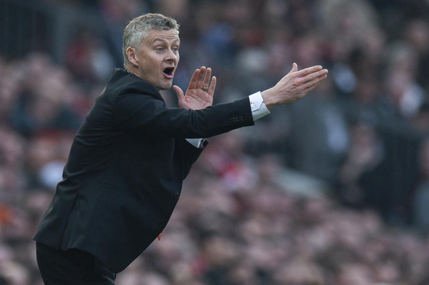 Manchester United manager Ole Gunnar Solskjaer had to make three first-half substitutions during the 0-0 draw with Liverpool.
