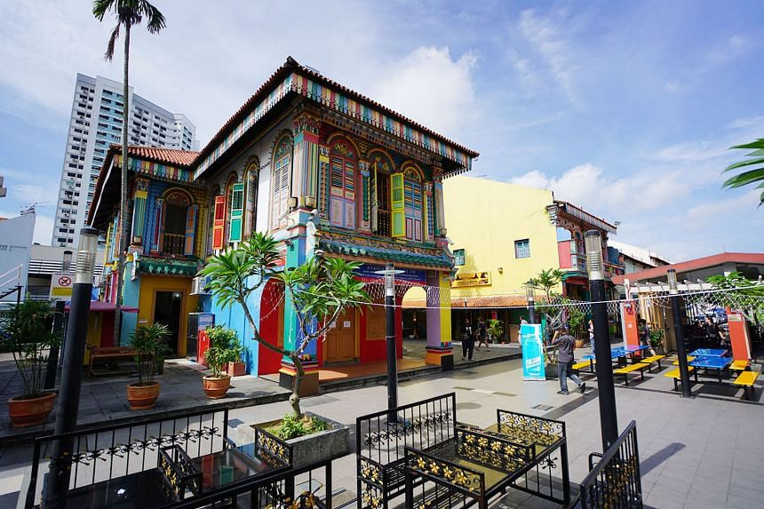 The House of Tan Teng Niah was built in 1900, and is believed to be the last remaining Chinese villa in Little India. The property is now used for commercial purposes but was famed as a residence in the past. It is one of the landmarks listed in the Natio