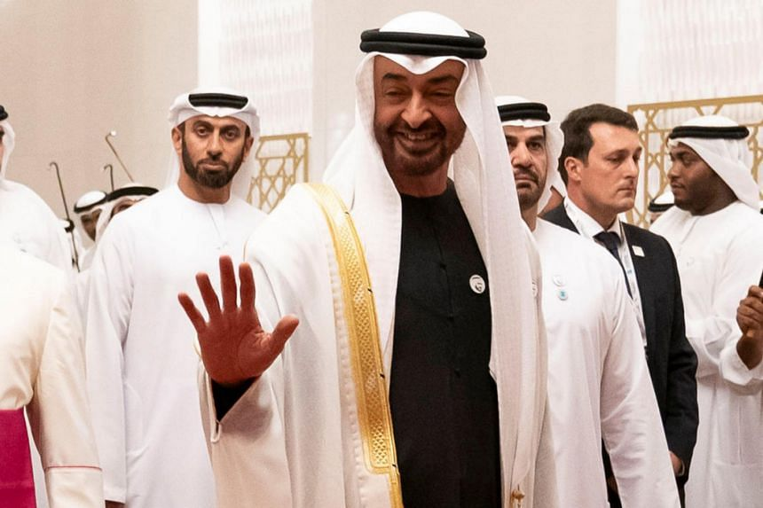 Crown Prince of Abu Dhabi Sheikh Mohamed Bin Zayed Al Nahyan will also meet Prime Minister Lee Hsien Loong, who will also host him to dinner.