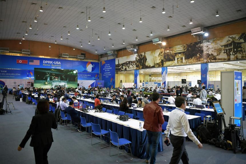 The Vietnamese government opened the International Media Centre on Feb 26, 2019, to provide common working spaces and private studios for the journalists.