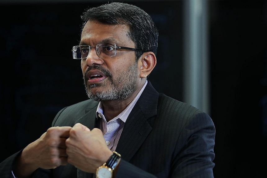 MAS MANAGING DIRECTOR RAVI MENON.