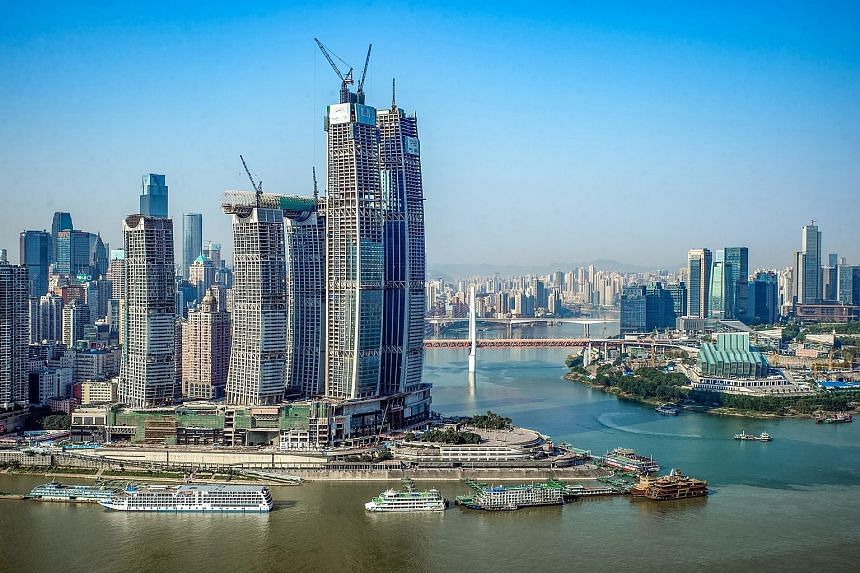 CapitaLand's Raffles City Chongqing. The Credo I China fund will invest in offshore US dollar-denominated subordinated instruments for real estate in China's first-and second-tier cities.