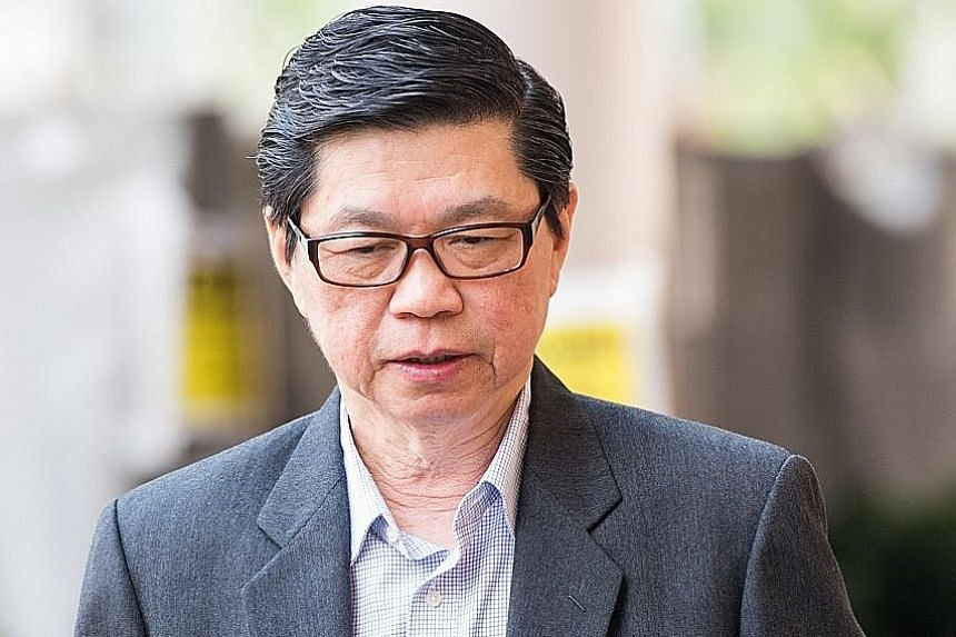 Wee Teong Boo was also convicted of a charge of molesting the victim during a consultation in November 2015.