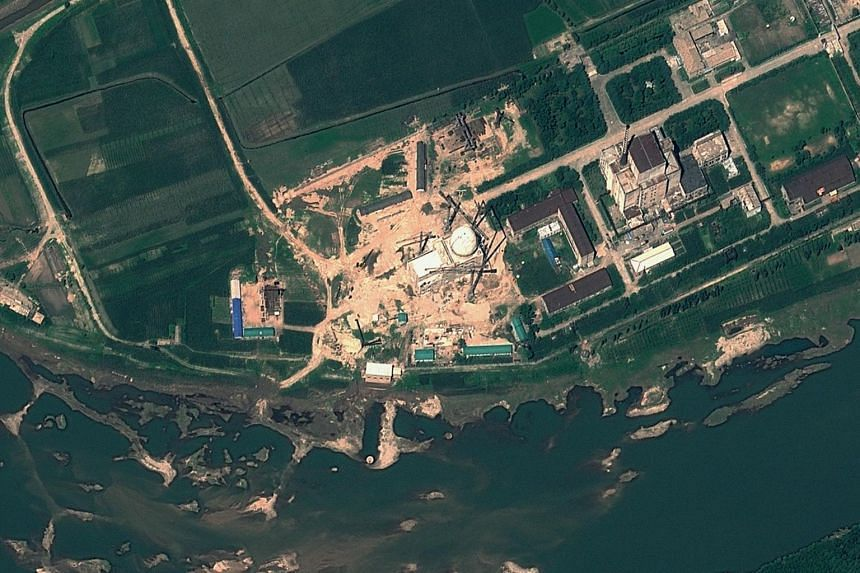 The Yongbyon Nuclear Scientific Research Centre in North Korea, as seen in a satellite file image taken on August 6, 2012.