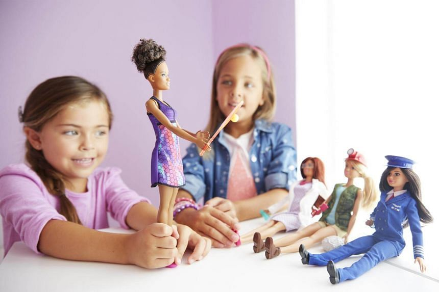 Barbie was launched in 1959, when most girls had only baby dolls and paper dolls to play with, rather than grown-up dolls.