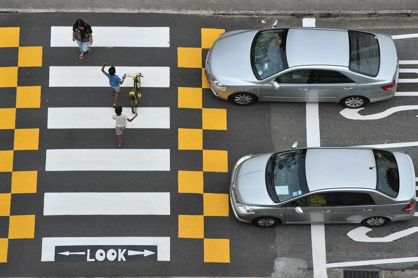 One of the most obvious examples is drivers not stopping at zebra crossings when there is a pedestrian crossing the road.