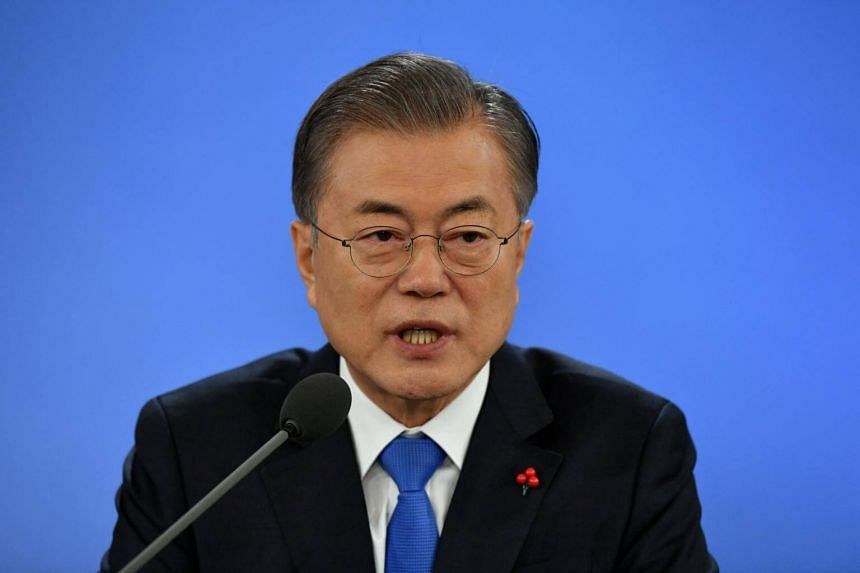 US President Donald Trump's call with South Korean President Moon Jae-in is likely to take place around 8pm Seoul time.