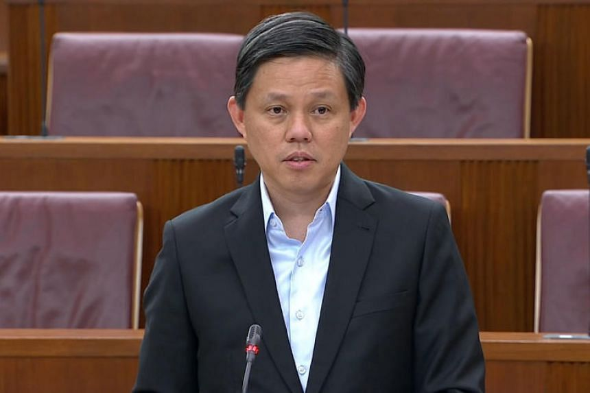 """Mr Chan Chun Sing, the minister in charge of the civil service, said problems may be hard to predict """"but that's our challenge - that's the high benchmark we need to set for ourselves""""."""