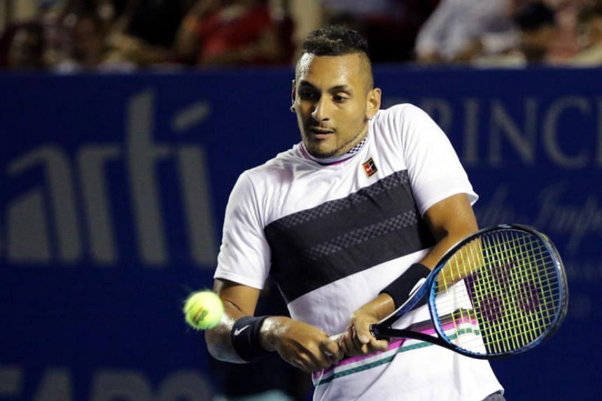 Australia's Nick Kyrgios leveled his head-to-head record with Rafael Nadal, and will play three-time Grand Slam champion Stan Wawrinka for a place in the semi-finals.