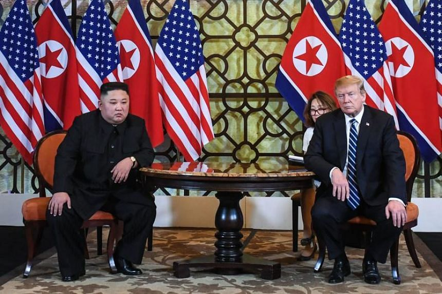 US President Donald Trump said that he and North Korean leader Kim Jong Un had failed to reach an agreement due to the North's demand that the US-led sanctions on Pyongyang be lifted.