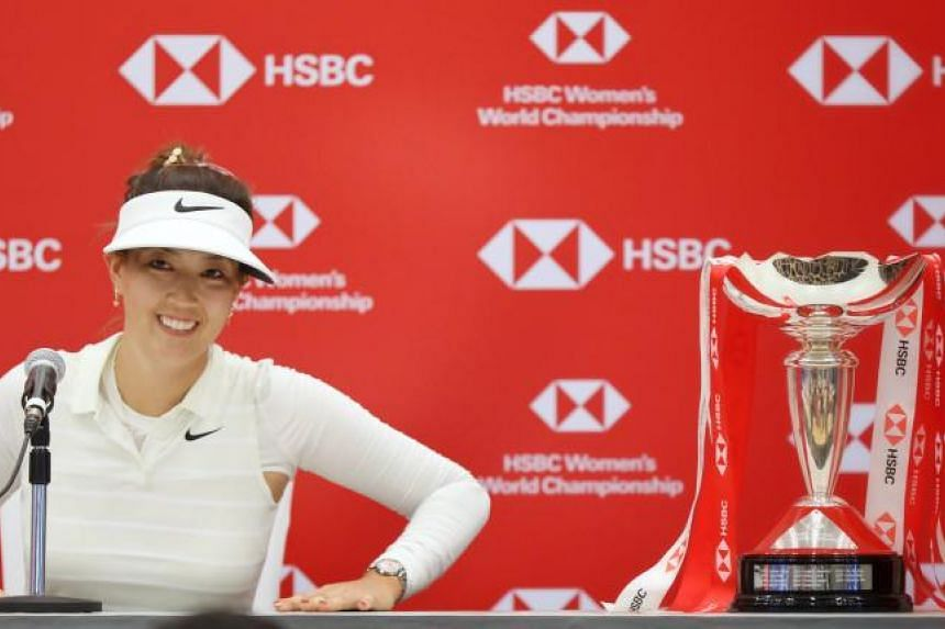 The HSBC Women's World Championship's defending champion Michelle Wie returns to the Sentosa Golf Club armed with a new skill.