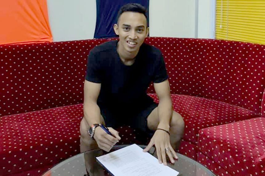 Faris Ramli sealed a deal with SPL side Hougang just weeks after the mutual termination of his contract with Perlis.
