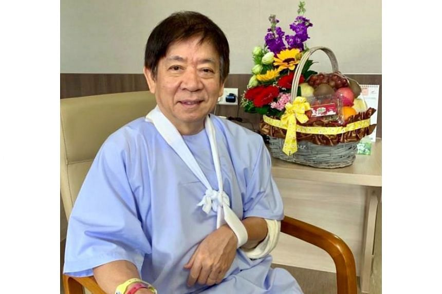 Transport Minister Khaw Boon Wan, who is warded in Singapore General Hospital, fractured his left arm in a fall last week, and is on extended medical leave.