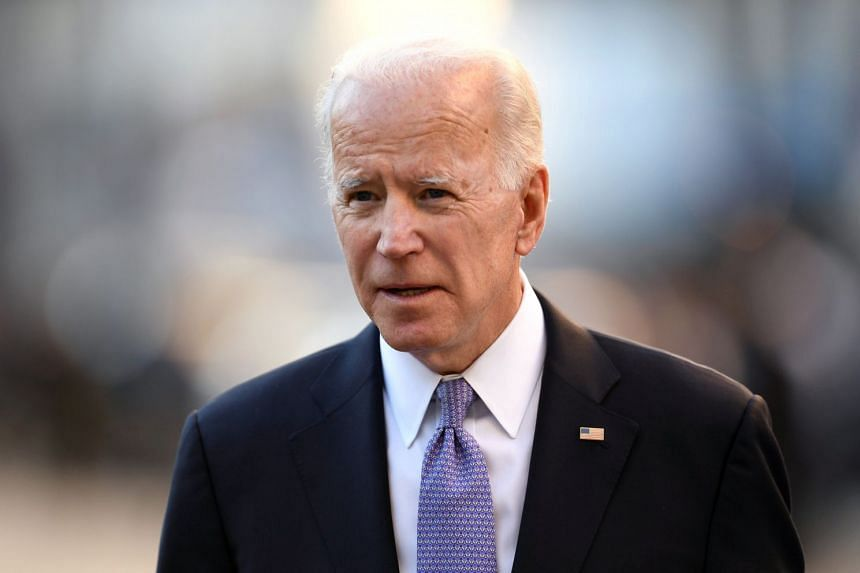 The strength of the field is a factor in Biden's (above) calculations, those close to him say.