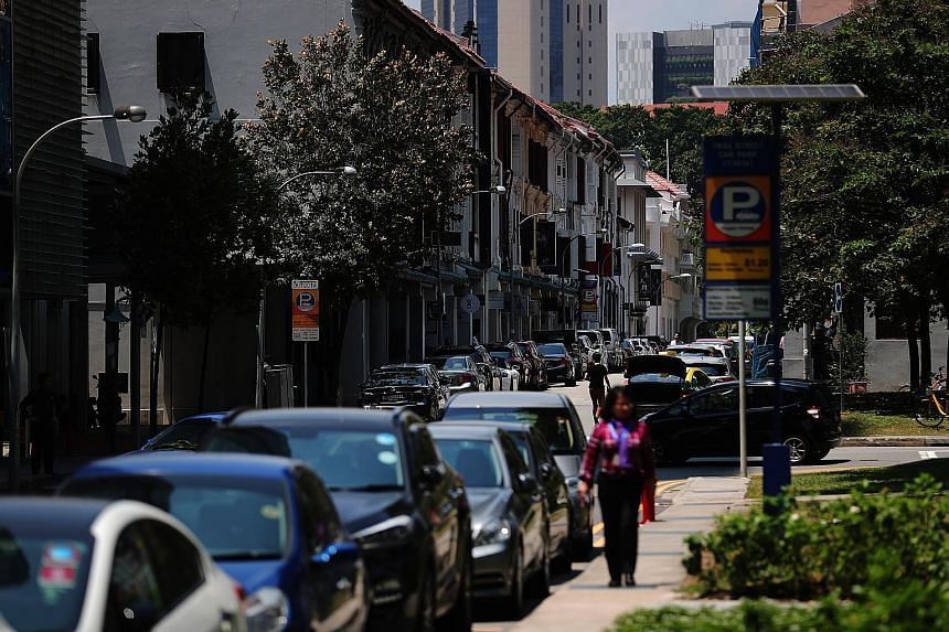 The smart sensors will provide real-time availability of kerbside parking spaces to people looking for one. They will be installed at on-street parking lots in Telok Ayer and Temple streets.