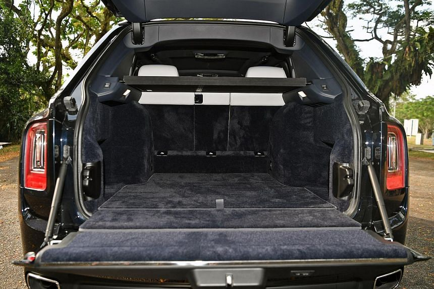 There is a 600-litre boot, that can be increased to 1,930 litres of cargo space if the rear seatbacks are folded down.
