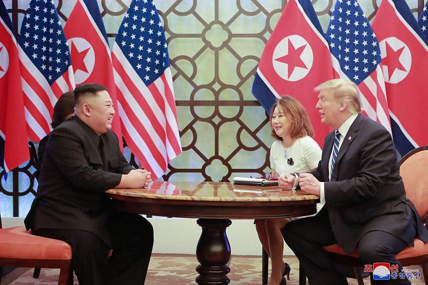 The second meeting between the North's leader Kim Jong Un and US President Donald Trump broke up in disarray, with a signing ceremony cancelled and no joint communique issued.