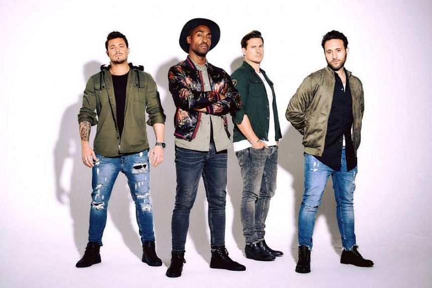 British boy band Blue comprises of members (from left) Duncan James, Simon Webbe, Lee Ryan and Antony Costa. We preview their show in this Life Picks podcast.