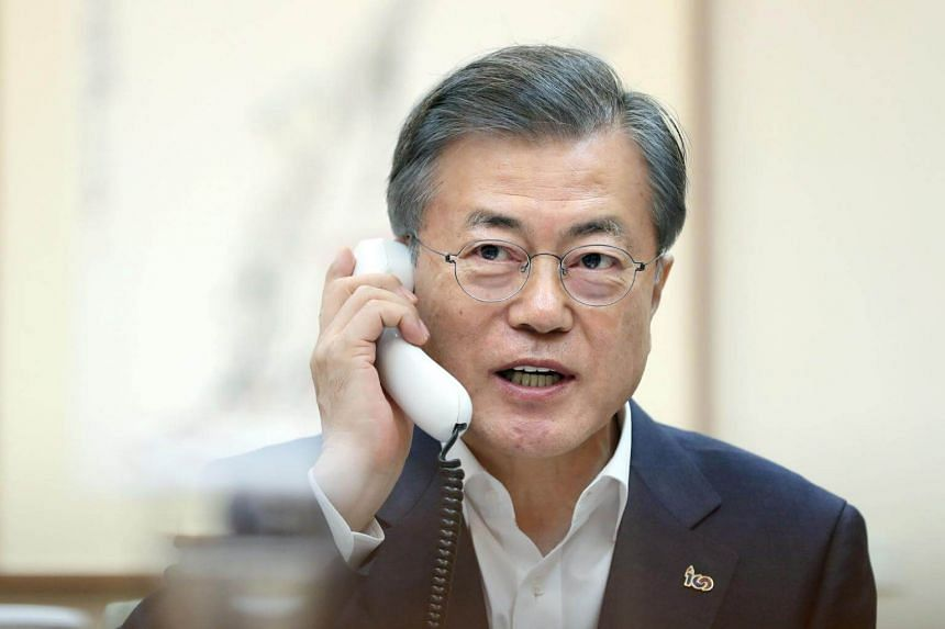 South Korean President Moon Jae-In's government refused to abandon hope, struggling to find a silver lining in the fiasco.