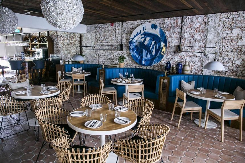 Olivia, a new restaurant in Keong Saik restaurant, specialises in cuisine from Barcelona.