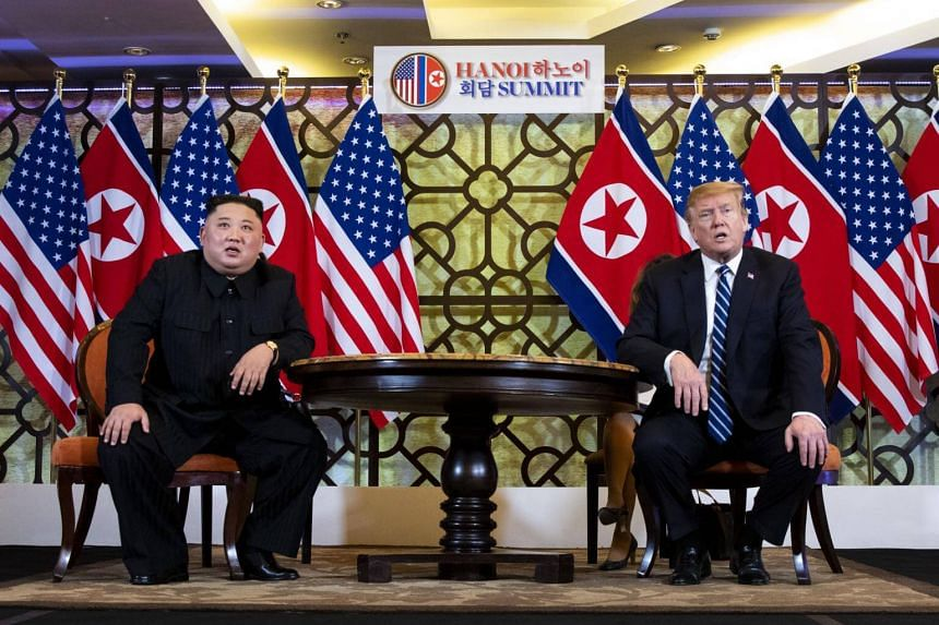 A US official said on March 1, 2019, that US President Donald Trump had encouraged North Korean leader Kim Jong Un to go all in.