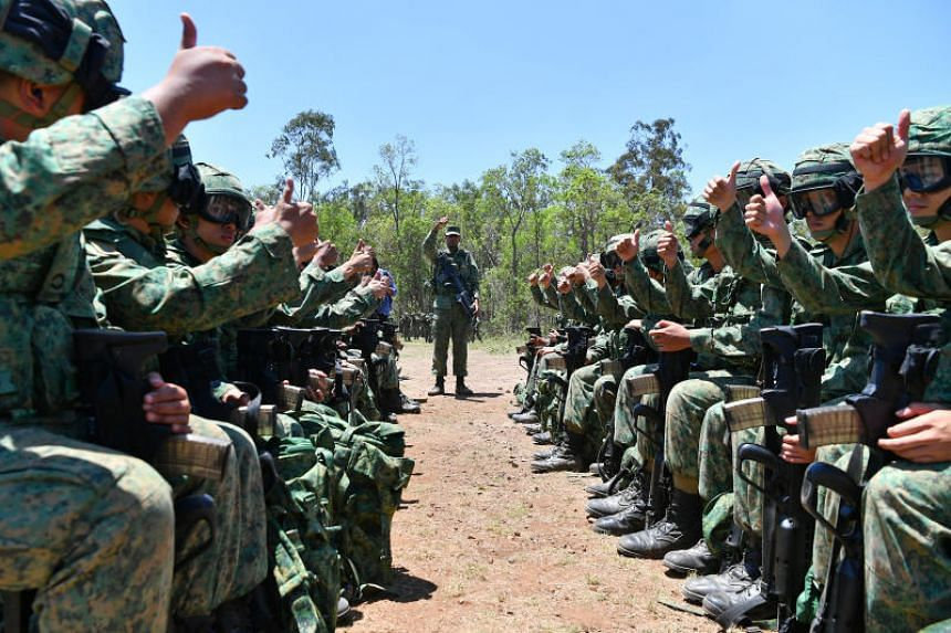 Currently, NSmen need to give notification for trips longer than 14 days but less than six months.