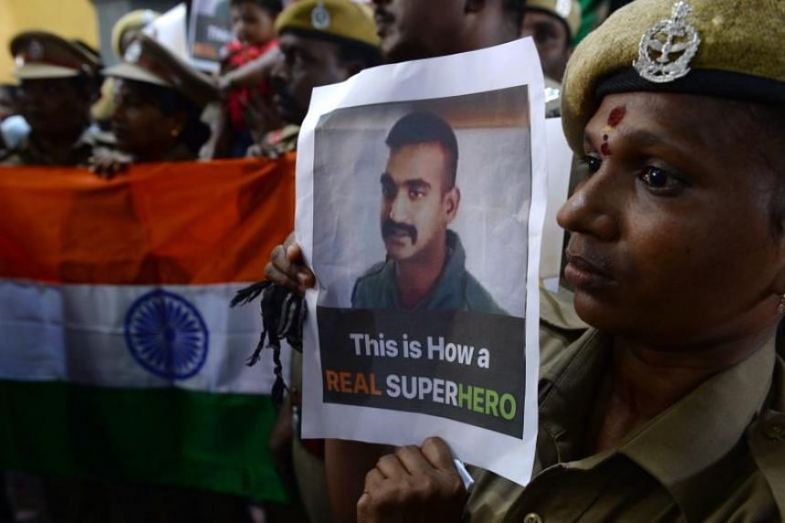 India's air force pilot, Wing Commander Abhinandan Varthaman, was handed over to Indian High Commission officials at Pakistan's Wagah border, Indian officials were quoted as saying.