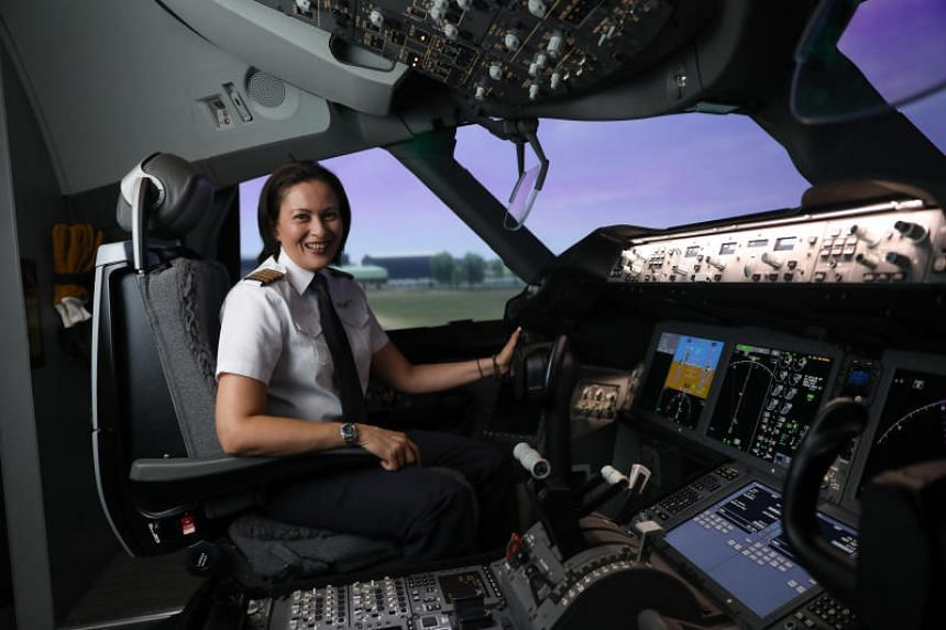 Captain Vanessa Ess was the first female to make it into SilkAir's cadet pilot programme in 2001.