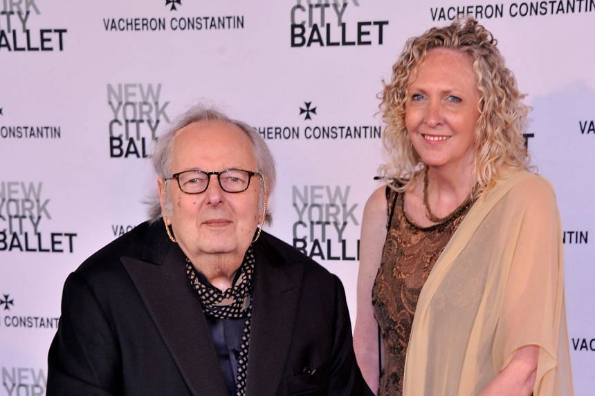 Previn (left) attending a spring gala by the New York City Ballet in 2013.