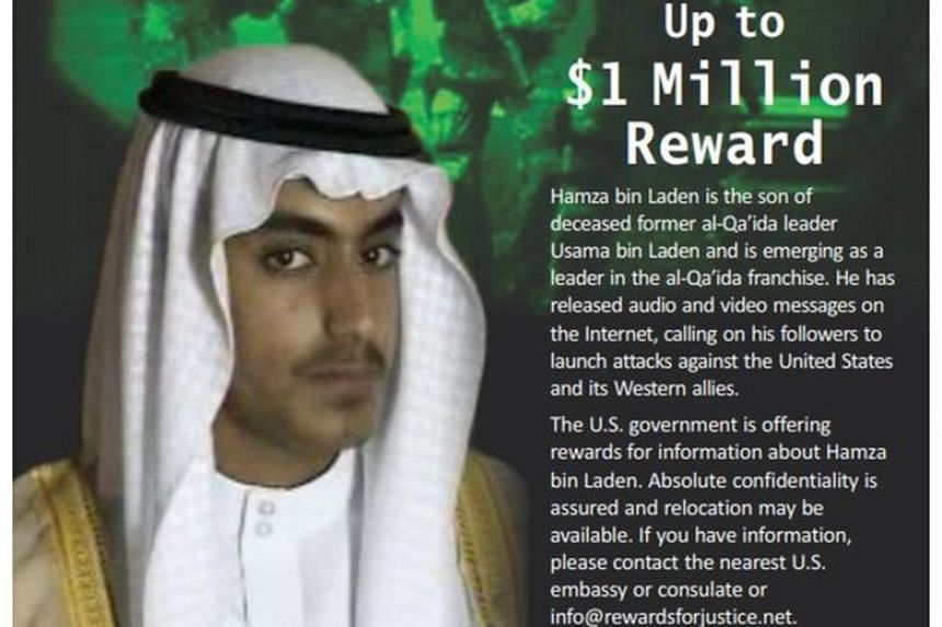 "The location of Hamza bin Laden, sometimes dubbed the ""crown prince of jihad,"" has been the subject of speculation for years with reports of him living in Pakistan, Afghanistan, Syria or under house arrest in Iran."
