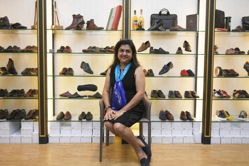 Ms Nita Chauhan, the founder of men's shoe label Vincitore Shoes, is among a rare handful of female shoemakers in Singapore.