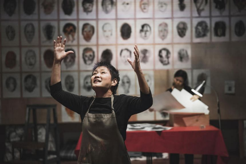 Still Life, written and performed by artist and activist Dana Lam, is a work of visual art which invites the viewer to return.