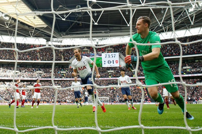 1106828f1f22 Football  Kane and Lloris rescue point for Spurs against Arsenal ...