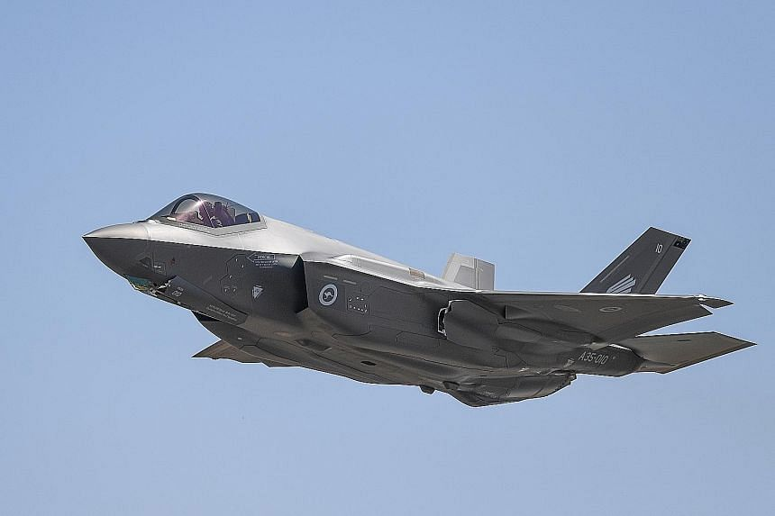 The unit price of the F-35 - dubbed the world's most advanced fighter jet - ranges from US$90 million (S$122 million) to US$115 million, comparable to what Singapore paid for its F-15SGs, said Defence Minister Ng Eng Hen.