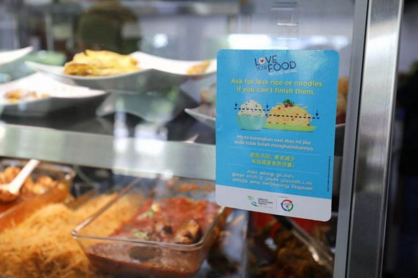 The Food Waste Reduction campaign urges everyone to buy, order or cook only what he can finish.