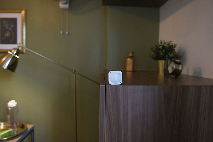 At St Bernadette, motion sensors are used in lieu of CCTV cameras for staff to track the movements and activities of the elderly residents in their rooms. Residents of St Bernadette Lifestyle Village, an assisted living facility, at one of their regu