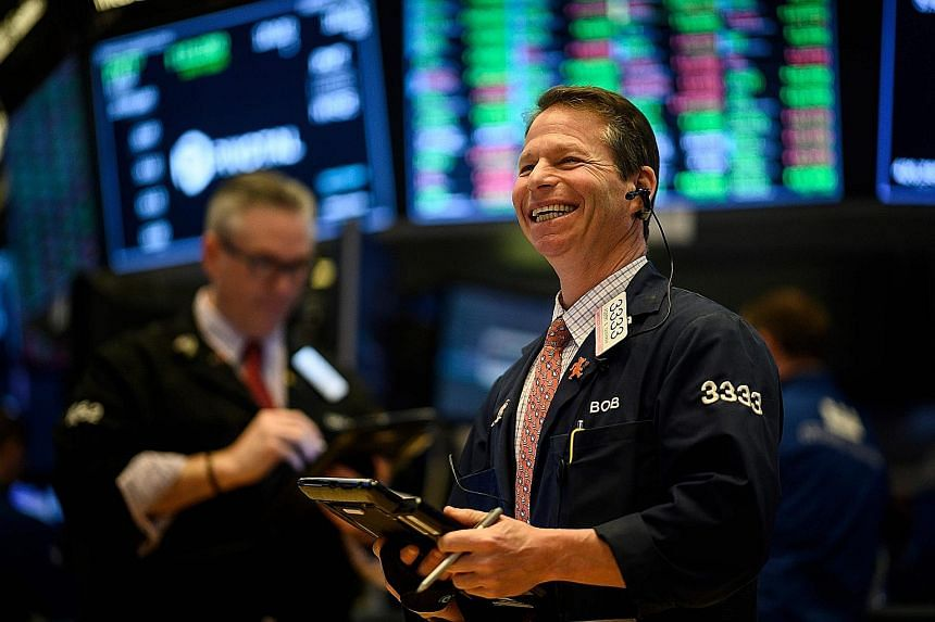 This New York Stock Exchange trader has reason to cheer. With the bullish market momentum going into its ninth straight week of gains, global equity markets have, by now, clocked gains cumulating to an impressive 16 per cent.