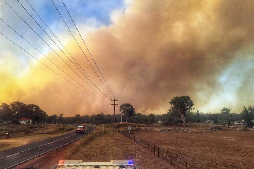 A severe four-day heatwave has brought fire weather across the southern parts of Western Australia, South Australia, Victoria and Tasmania over the weekend.