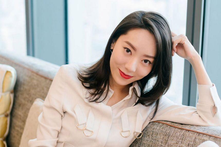 Chinese actress E Jingwen, a graduate of China's Central Academy of Drama, whose alumni include luminous names such as Gong Li, Zhang Ziyi and Deng Chao.