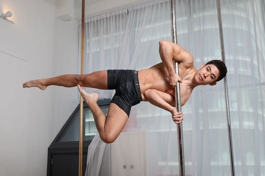 Louis Sue is a professional pole dancer and co-owner of PXD Pole Studio at Robinson Road.