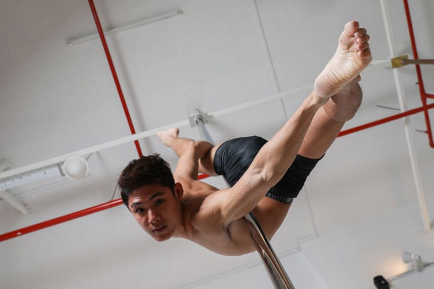 Pole-dancing started out as just a fitness hobby for Louis Sue, and it then became a passion and career choice for him.