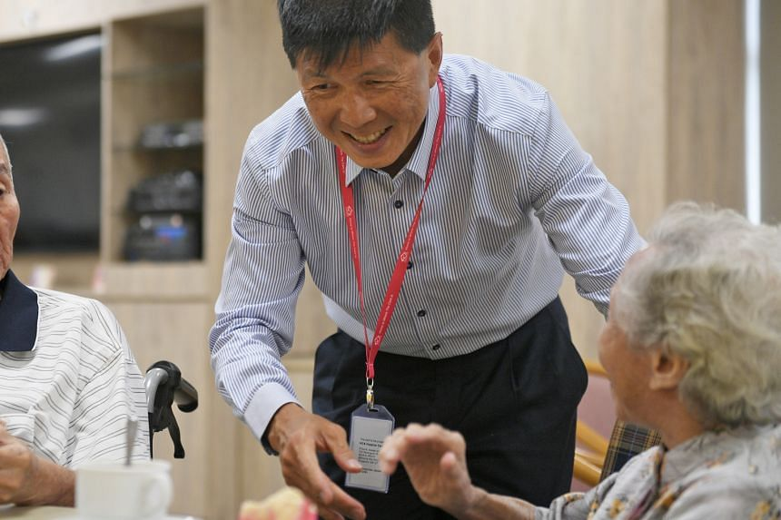 Dr Tan has been with HCA Hospice Care for six years, the last five as president. He will be stepping down as president in August. Dr Tan Poh Kiang, 53, training at MacRitchie Reservoir. The president of HCA Hospice Care is preparing for the Monster U
