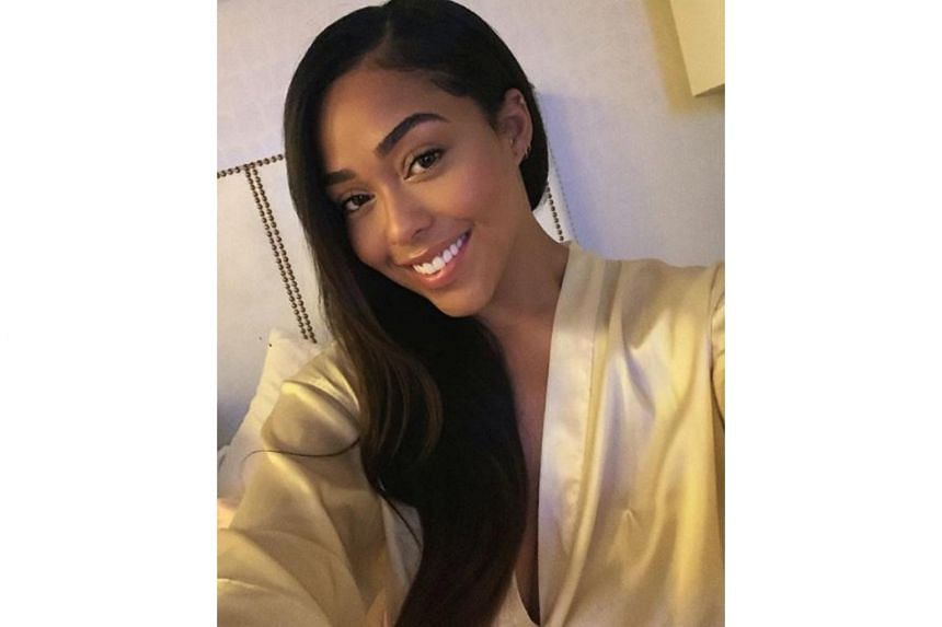 Model Jordyn Woods said she did not have a one-night stand with Khloe Kardashian's boyfriend Tristan Thompson, and had only kissed him.