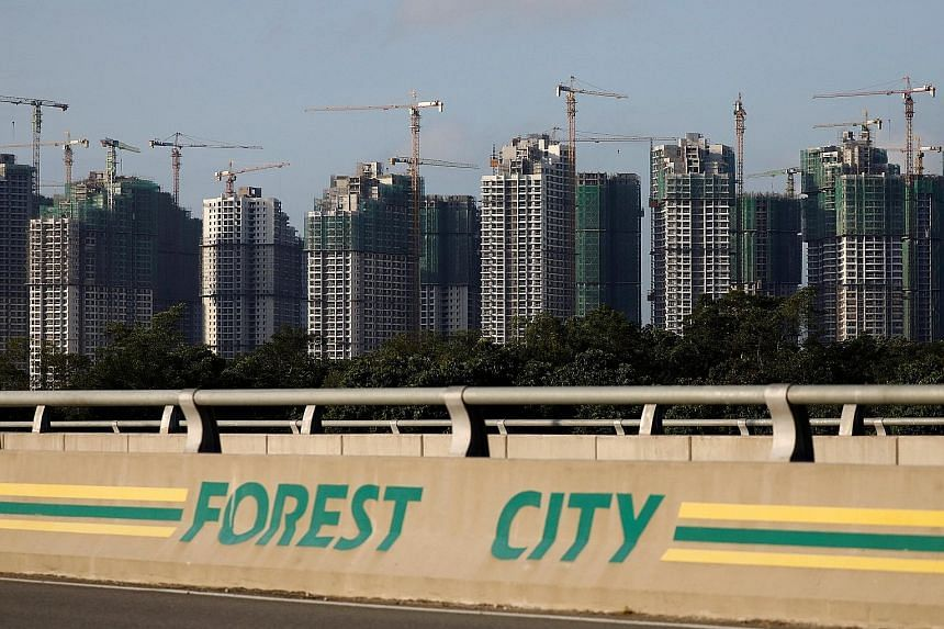 In August, Prime Minister Mahathir Mohamad said Malaysia would not give visas for foreigners to live at mega-project Forest City.