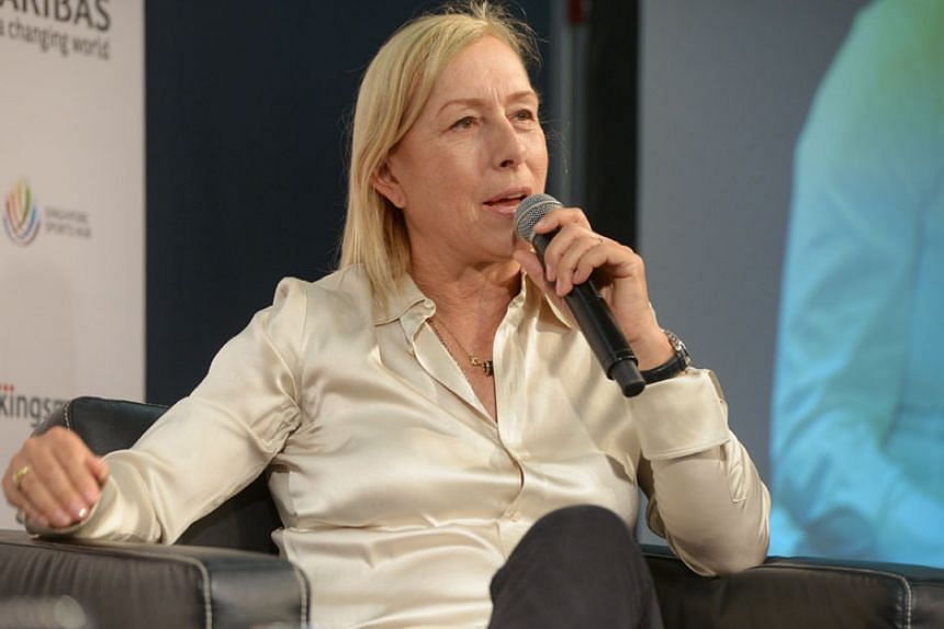 Martina Navratilova was also dropped as an ambassador for the Athlete Ally group which campaigns for LGBT rights in sport.