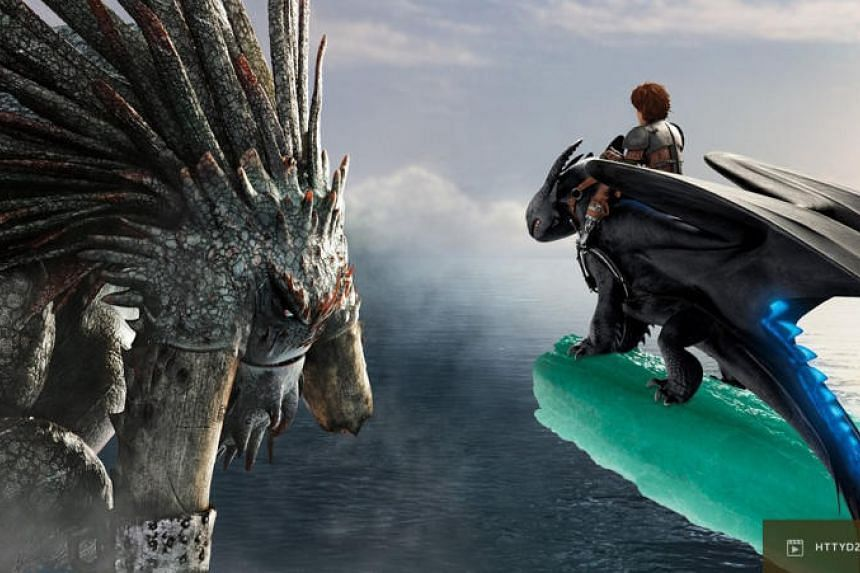 Cinema still of How To Train Your Dragon 2.